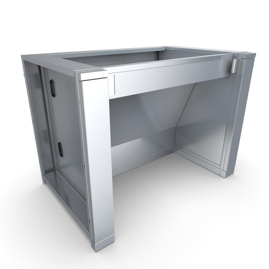 sunstone designer 44 in w x 28 25 in d x 34 5 in h outdoor kitchen cabinet