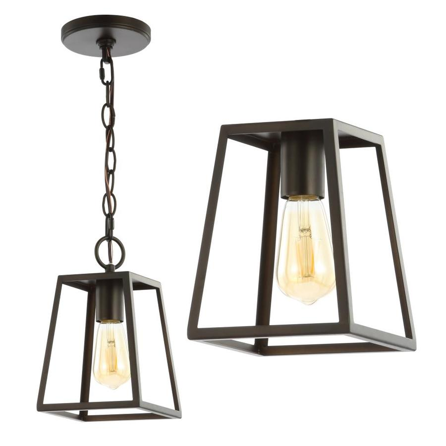 https www lowes com pd jonathan y oil rubbed bronze traditional lantern led pendant light 1002254338