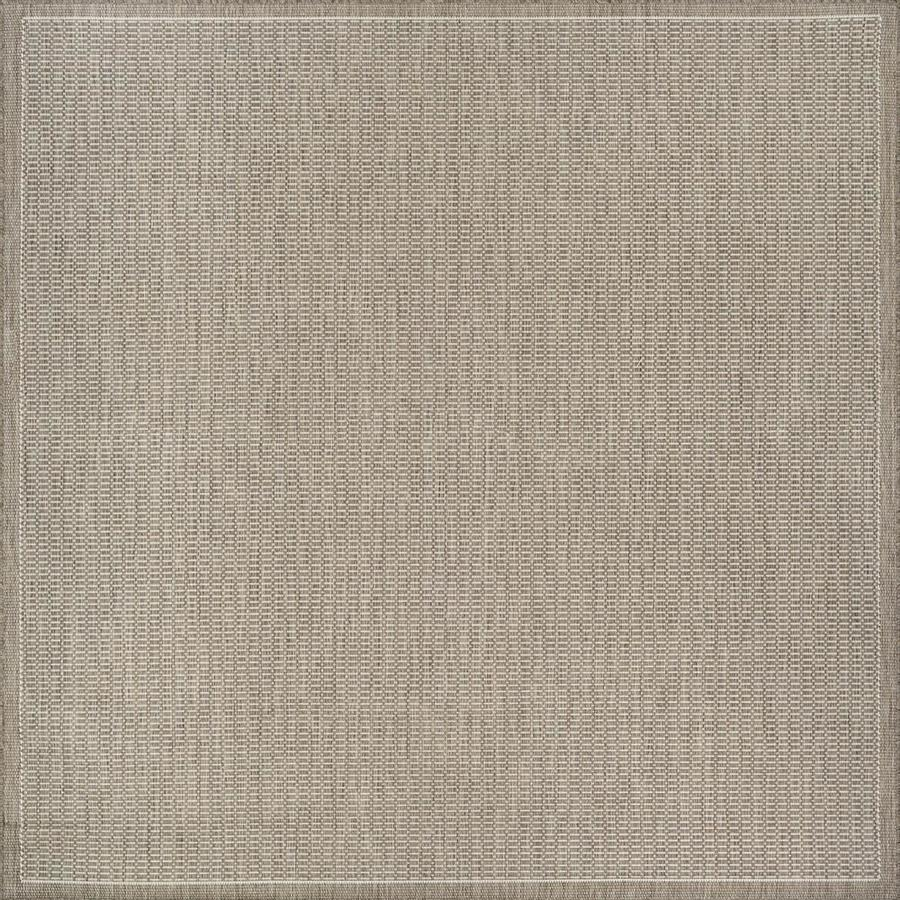 couristan recife 8 x 8 champagne taupe