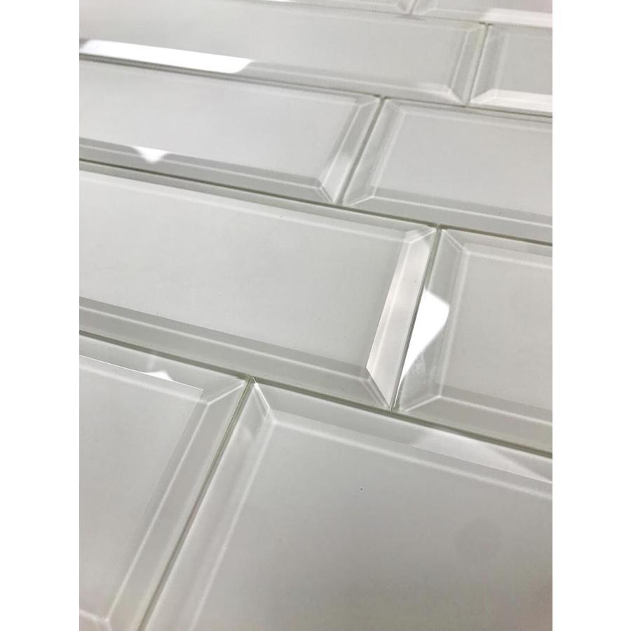 matte glass subway wall tile sample