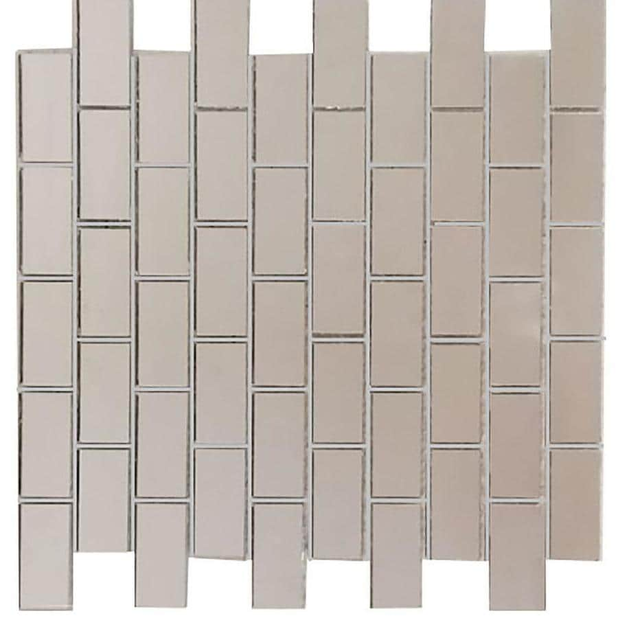 mirrored glass mosaic wall tile sample