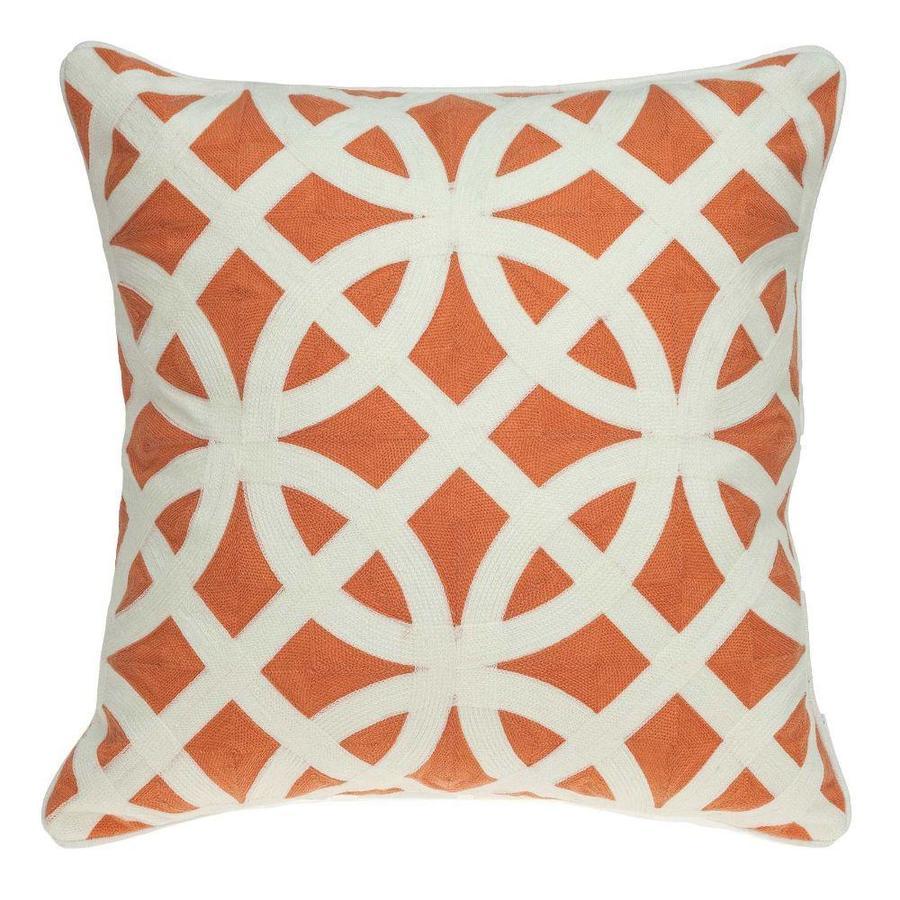 orange pillow cases at lowes com