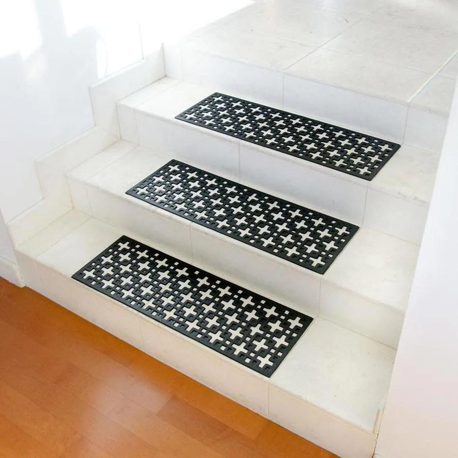 Stair Tread Mat Mats At Lowes Com | Carpet Stair Treads Lowes | Diy | Underlay Carpet | Luxury Vinyl Stair | Residential | Non Slip