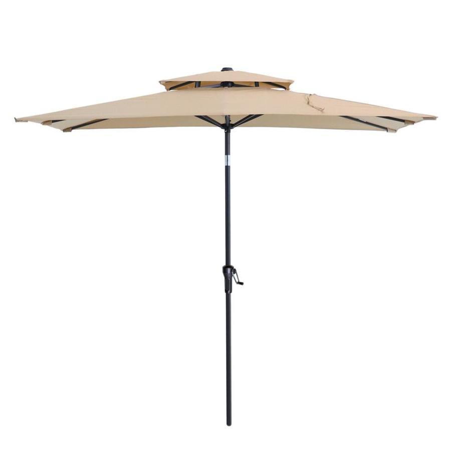 push button tilt market patio umbrella