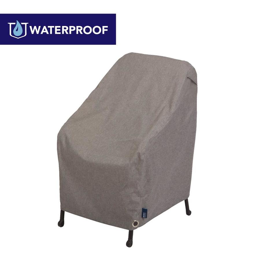 modern leisure garrison heather gray polyester patio furniture cover