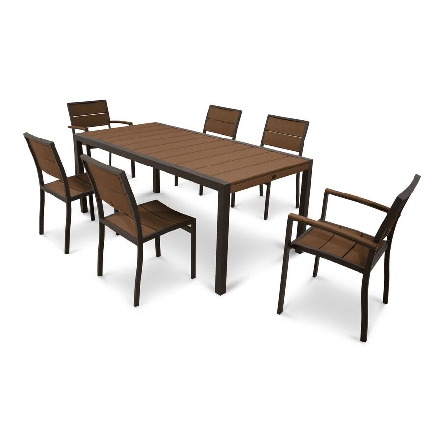 plastic dining patio dining