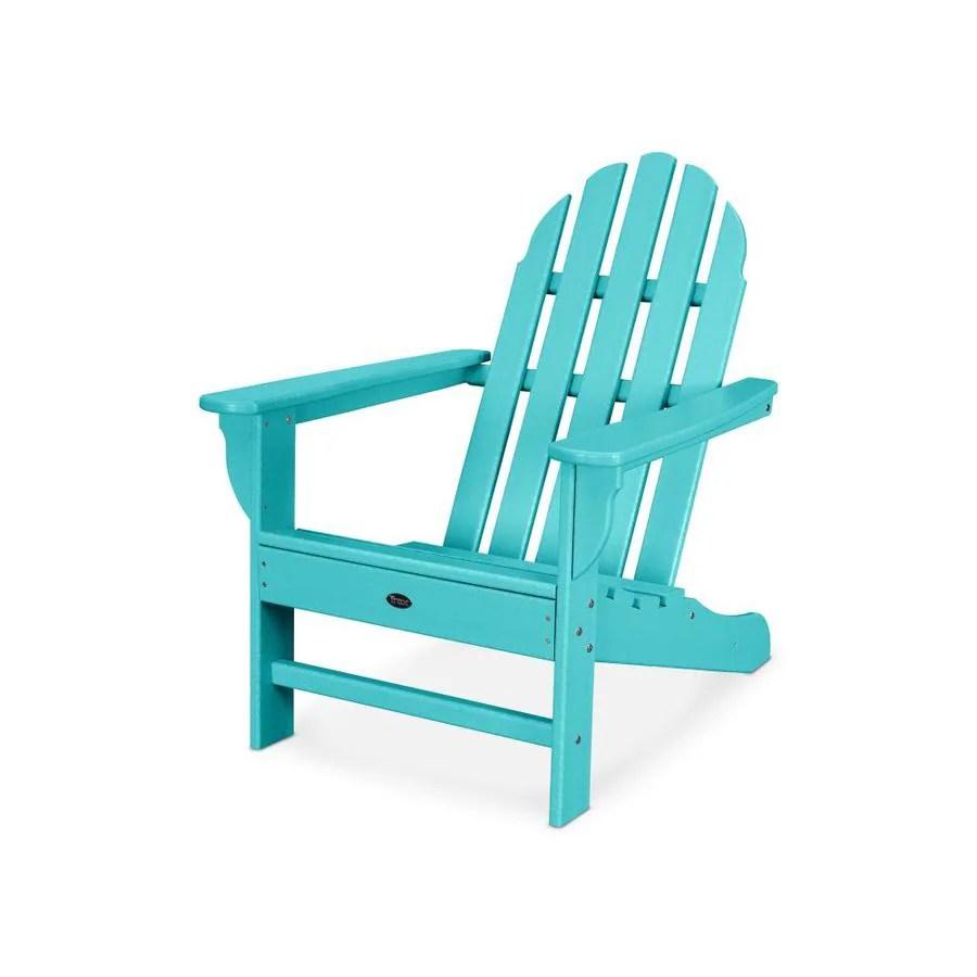 Trex Outdoor Furniture Adirondack Hdpe Adirondack Chair With Slat Seat