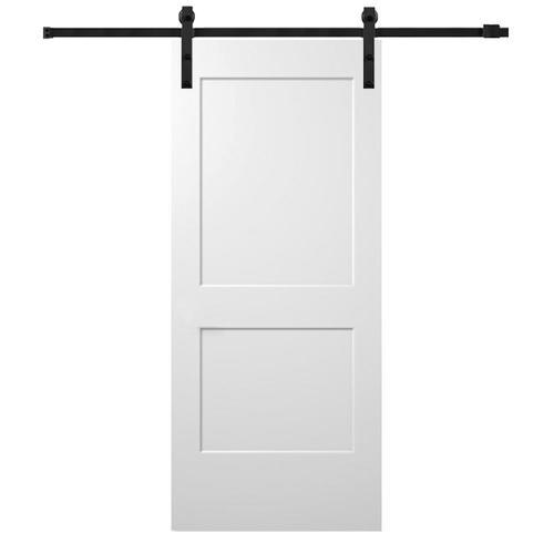 mmi door 32 in x 80 in primed 2 panel primed molded on Bay 32 In X 80 In 32 In Clear 6 Panel Solid id=15691