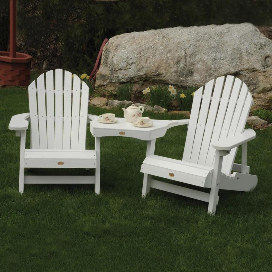 highwood adirondack set of 2 composite material adirondack chair with slat