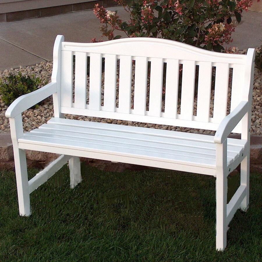 Prairie Leisure Design Garden 19-in W x 44-in L Satin ... on Lowes Patio Design id=93691