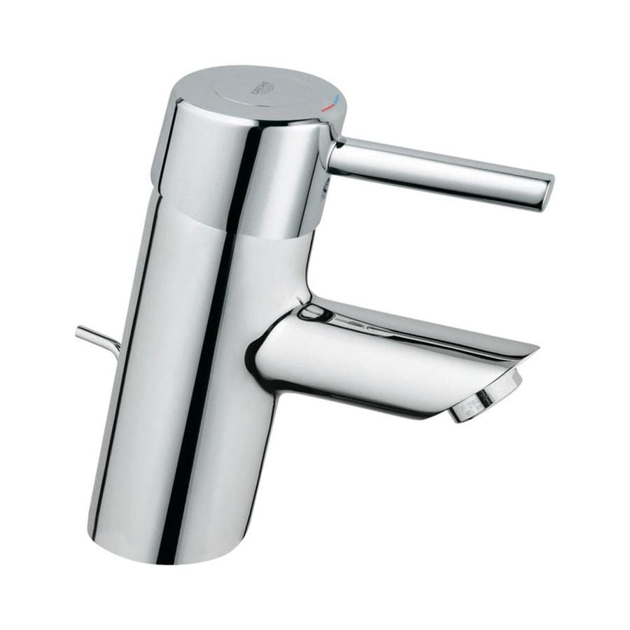 grohe concetto starlight chrome 1 handle single hole bathroom faucet