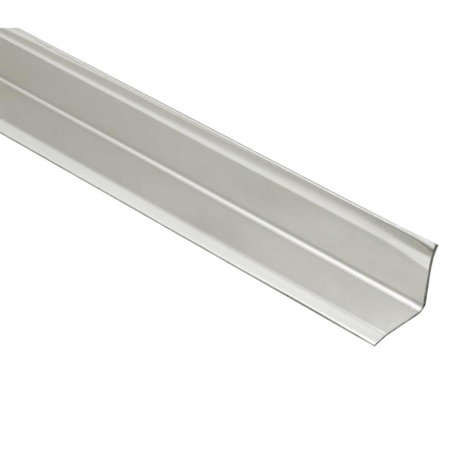 schluter systems eck ki 0 563 in w x 98 5 in l brushed stainless steel inside corner tile edge trim