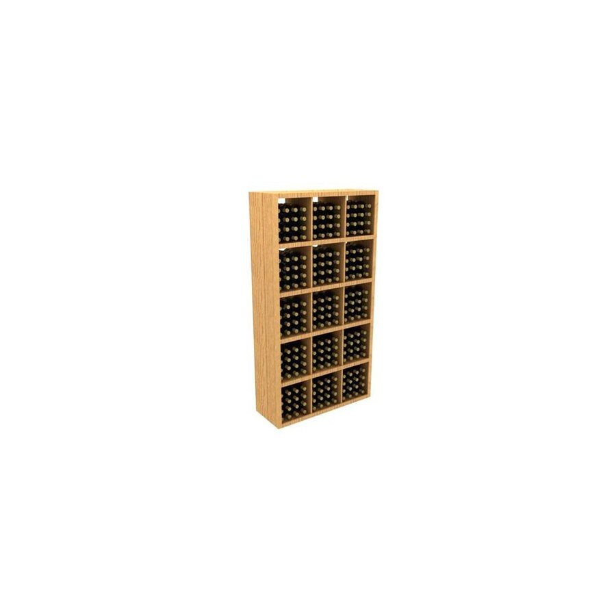 whole cellar commercial 240 bottle redwood freestanding floor wine rack