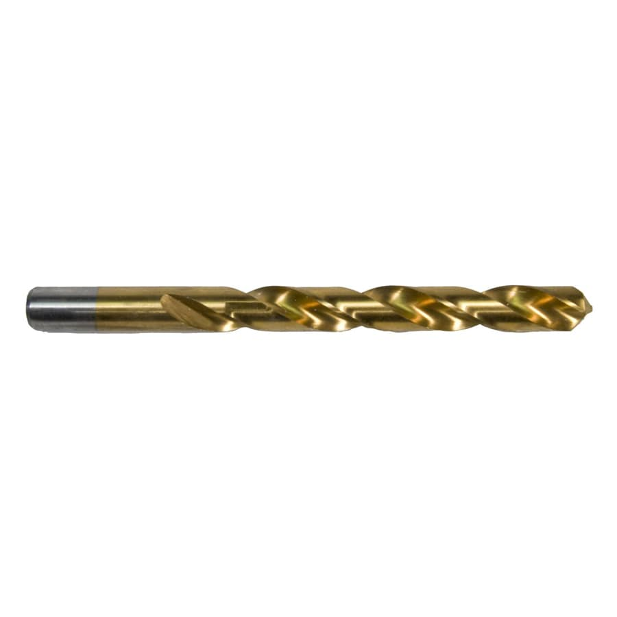 Shop Morris Products 1132 In Titanium Twist Drill Bit For PVC Wood Metal Stainless Steel At