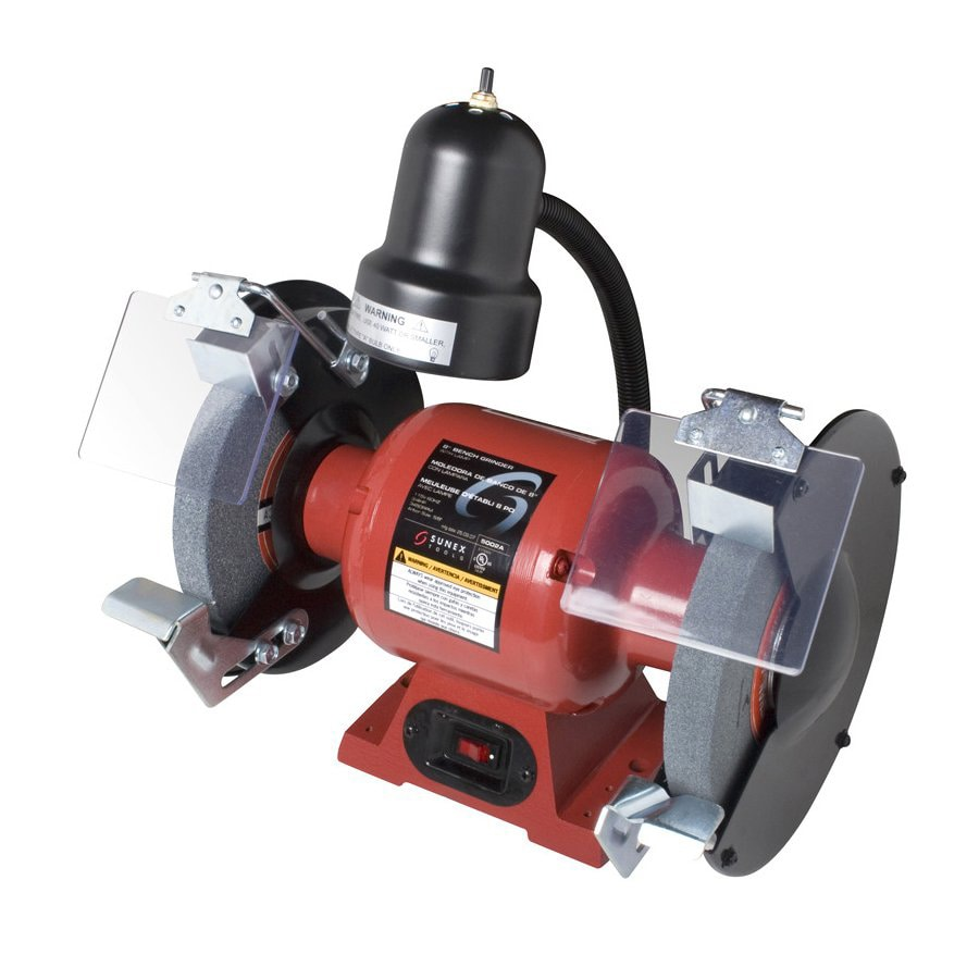 Shop Sunex Tools 8 In 3 4 Hp Bench Grinder With Light At