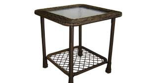 Shop Garden Treasures Severson Square End Table At Lowescom