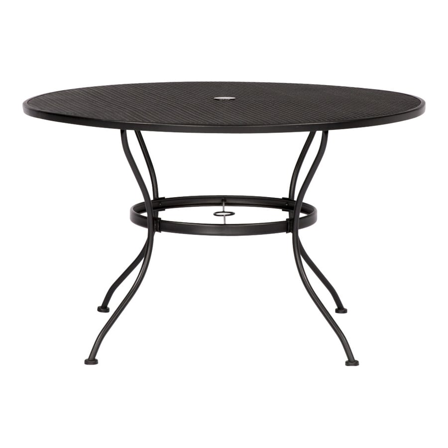 round patio tables at lowes com