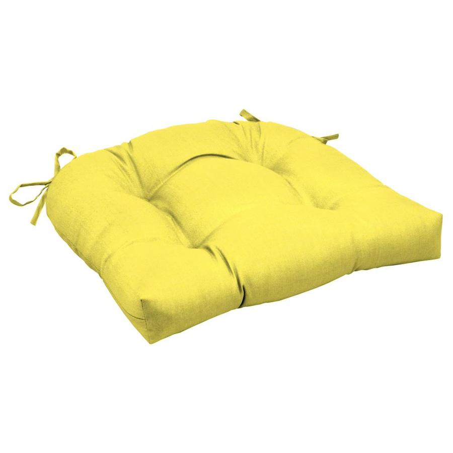 arden selections lemon leala texture patio chair cushion