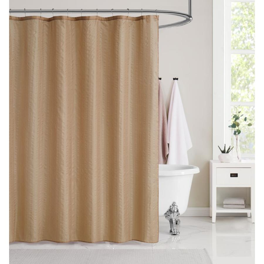 brown shower curtains liners at lowes com