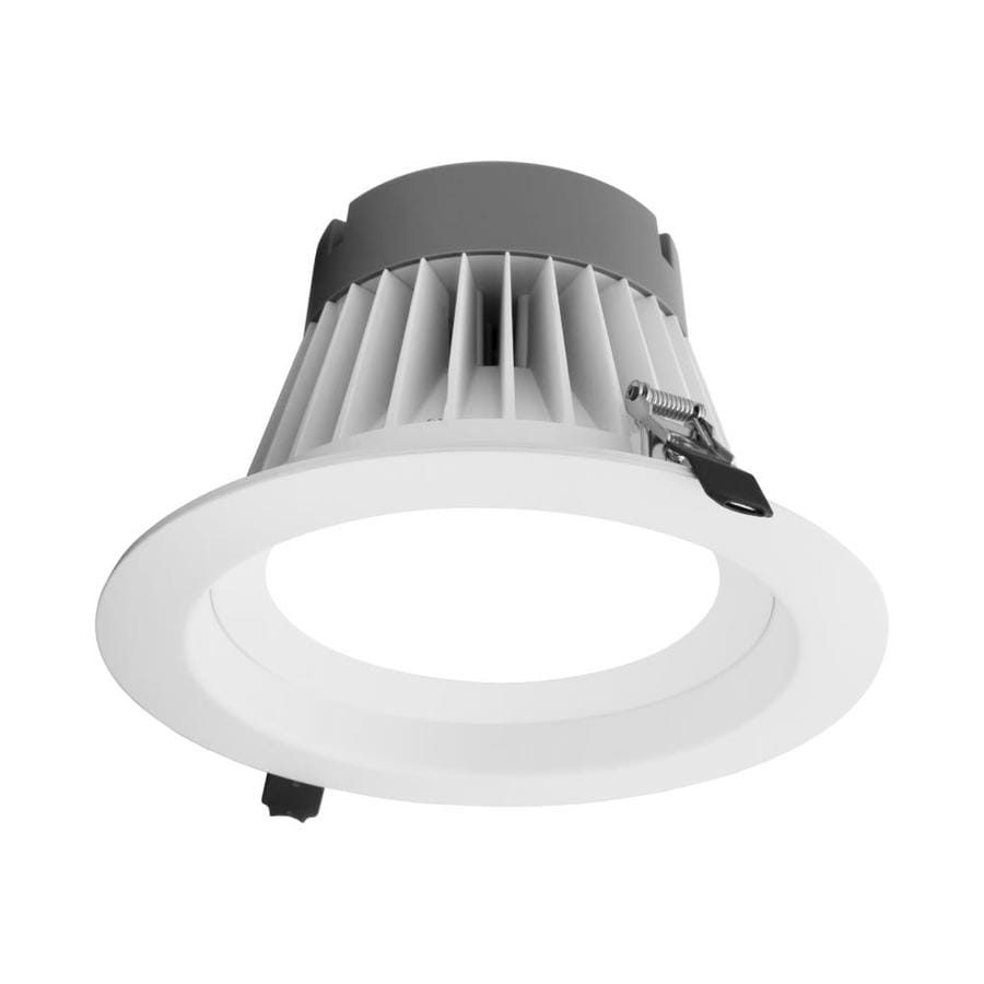 nicor lighting clr8 select 8 in led remodel and new construction white airtight ic open recessed light kit
