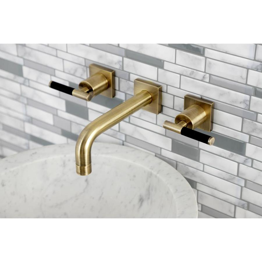 brass antique bathroom sink faucets at