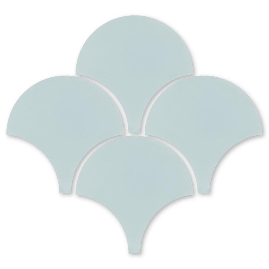 villa lagoon tile solid fishscale atmosphere sb 4000 16 pack atmosphere sb 4000 light blue 8 in x 8 in unglazed cement encaustic wall tile