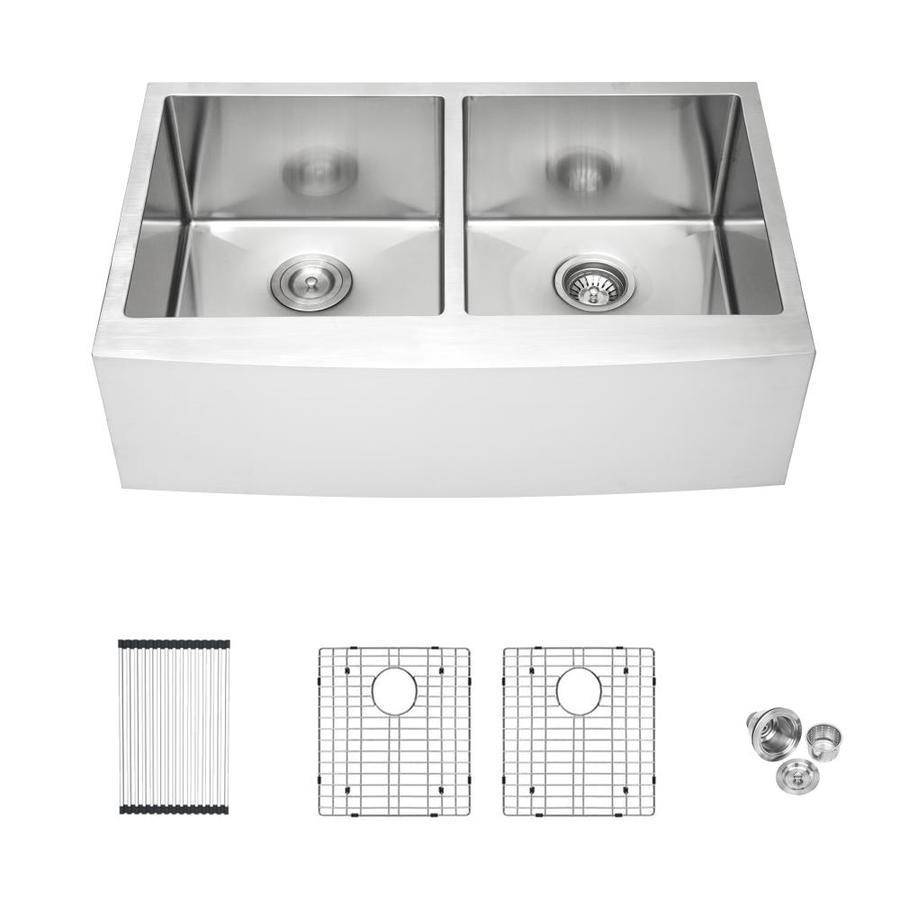 double offset bowl kitchen sink