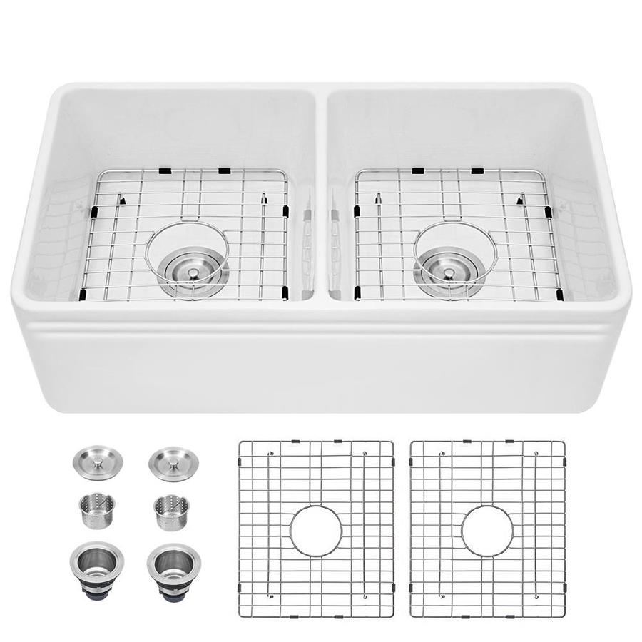 double equal bowl 2 hole kitchen sink