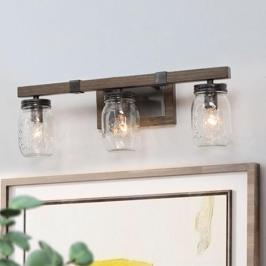 farmhouse vanity lights at lowes com