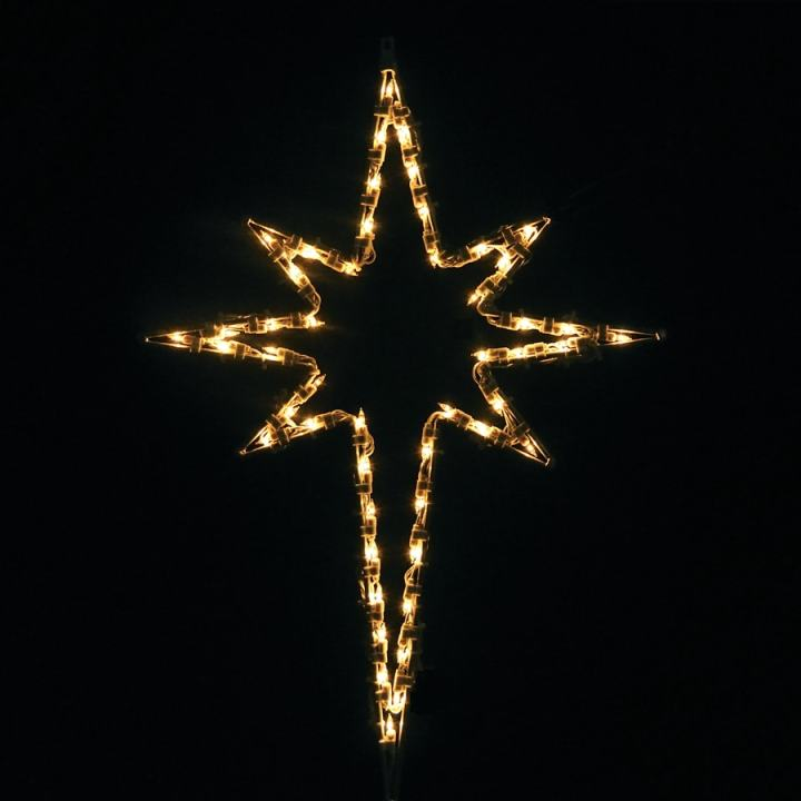 Bethlehem star christmas lights for 18 lighted christmas tree with stars window silhouette decoration
