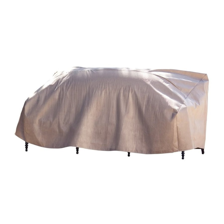 Duck Covers Tan Sofa Cover At Lowes Com