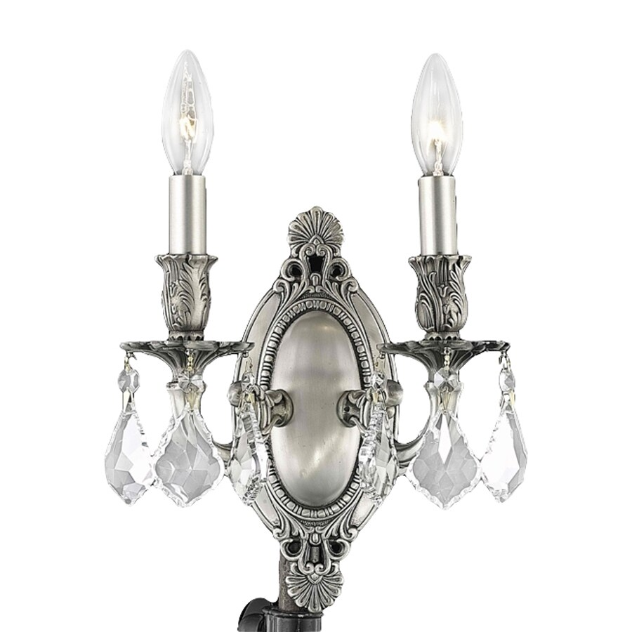elegant lighting rosalia 9 in w 2 light