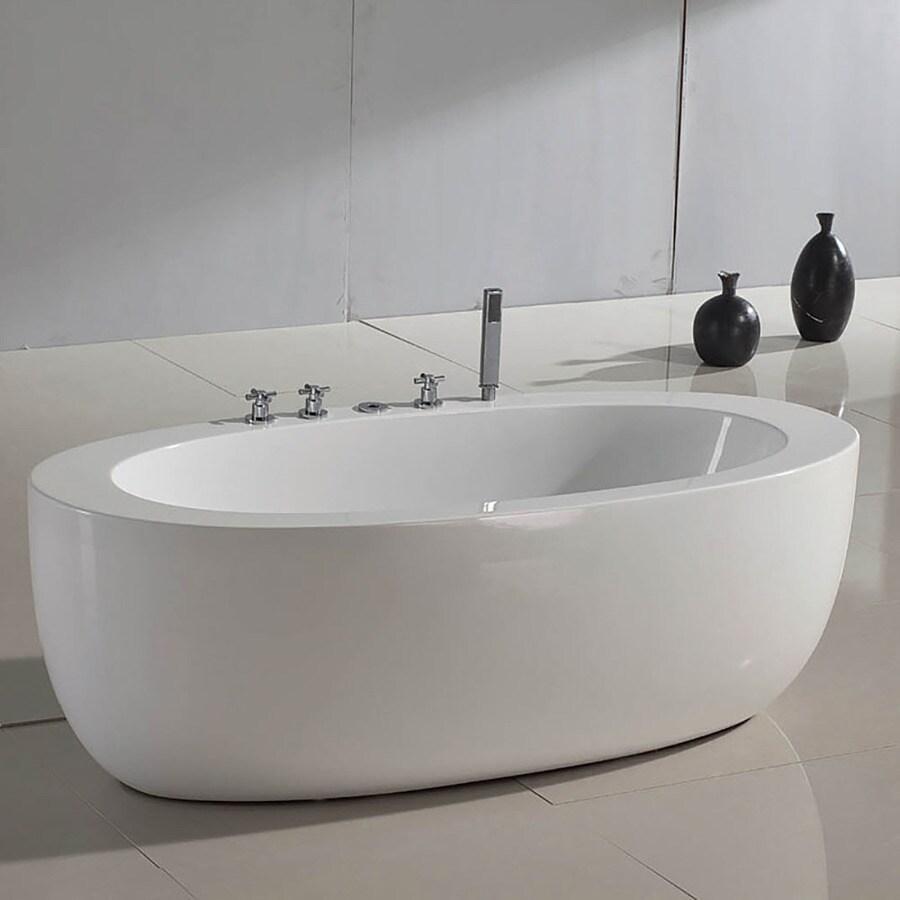 Aquatica Purescape 6875 In White Acrylic Tub With Center