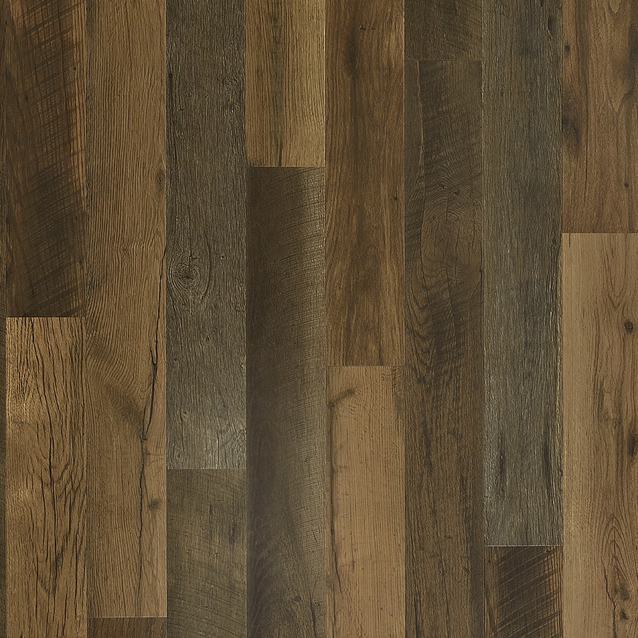 pergo timbercraft wetprotect waterproof antique barnwood 6 14 in w x 47 24 in l waterproof embossed wood plank laminate flooring 16 12 sq ft