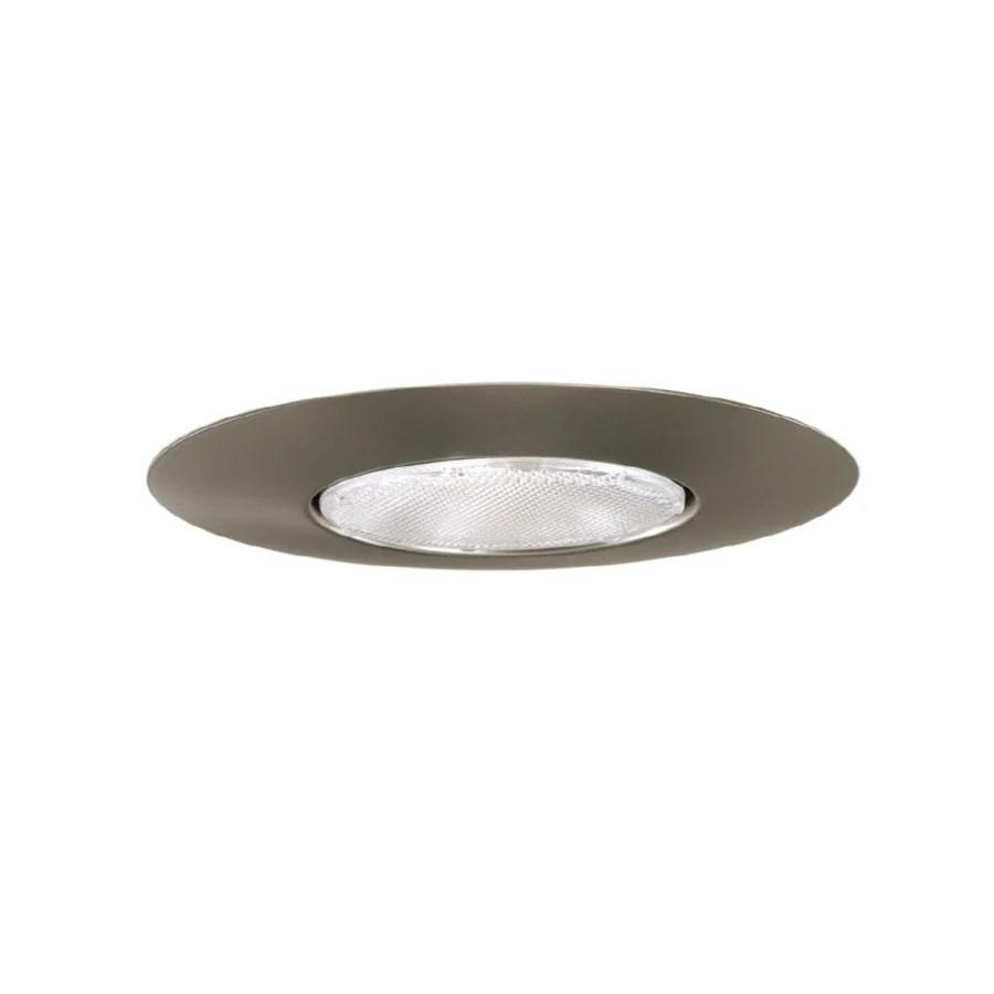 halo 6 in satin nickel open recessed light trim