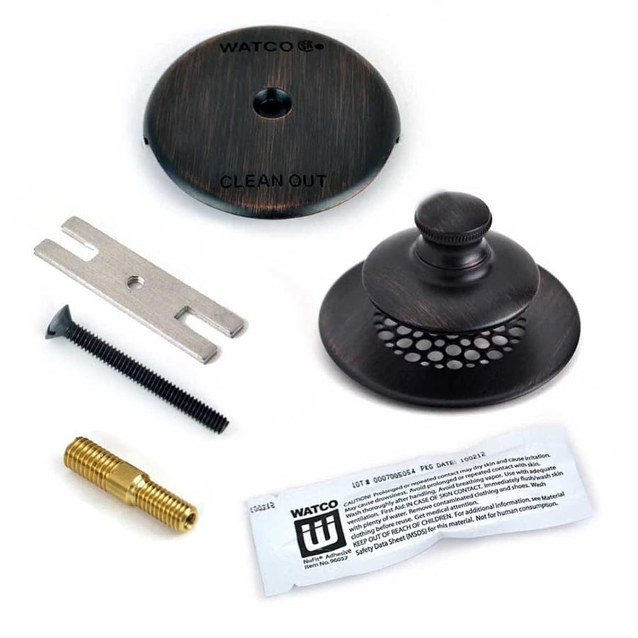 Shop WATCO Oil Rubbed Bronze Plastic Trim Kit At