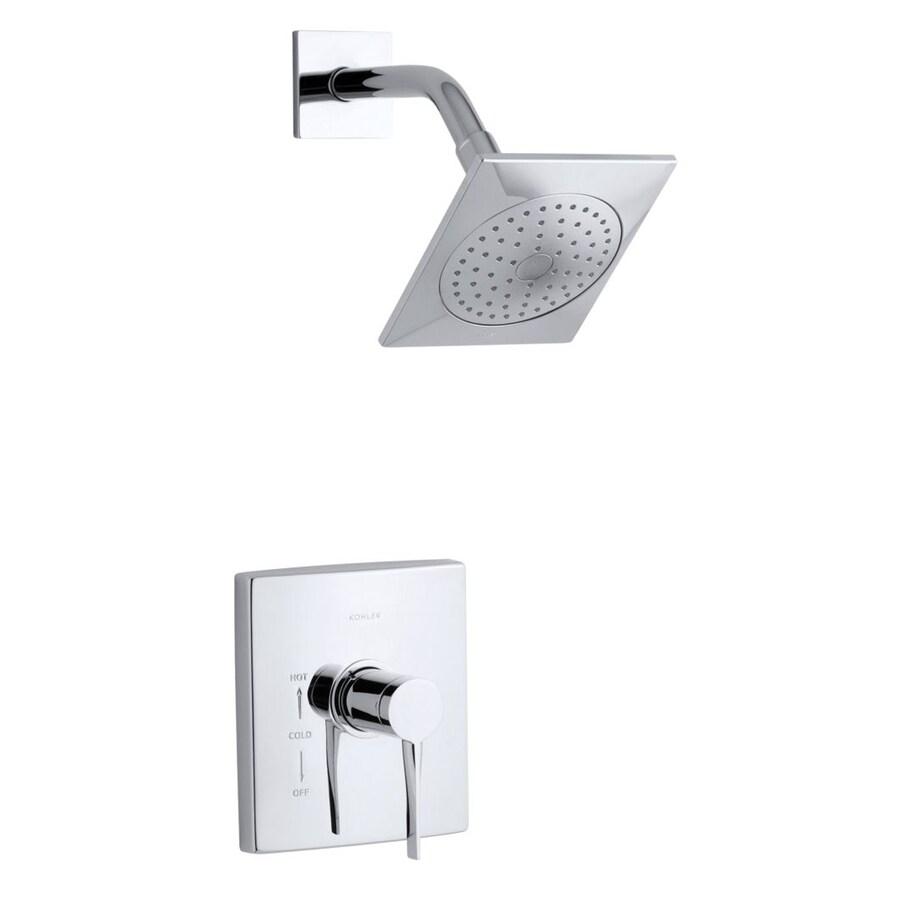 Shop KOHLER Stance Polished Chrome 1 Handle Shower Faucet Trim Kit With Single Function