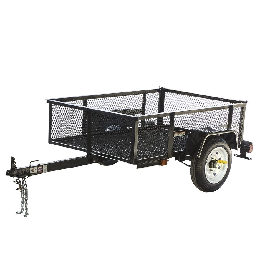 Carry On Trailer 35 Ft X 5 Ft Wire Mesh Utility Trailer