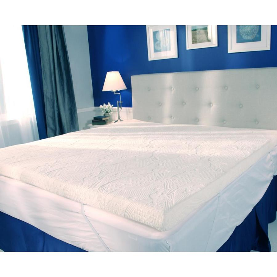 d polyester queen mattress topper