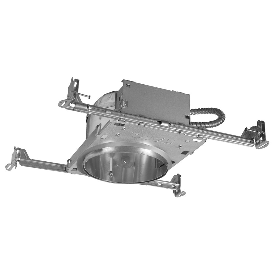 halo new construction airtight ic 6 in shallow recessed light housing
