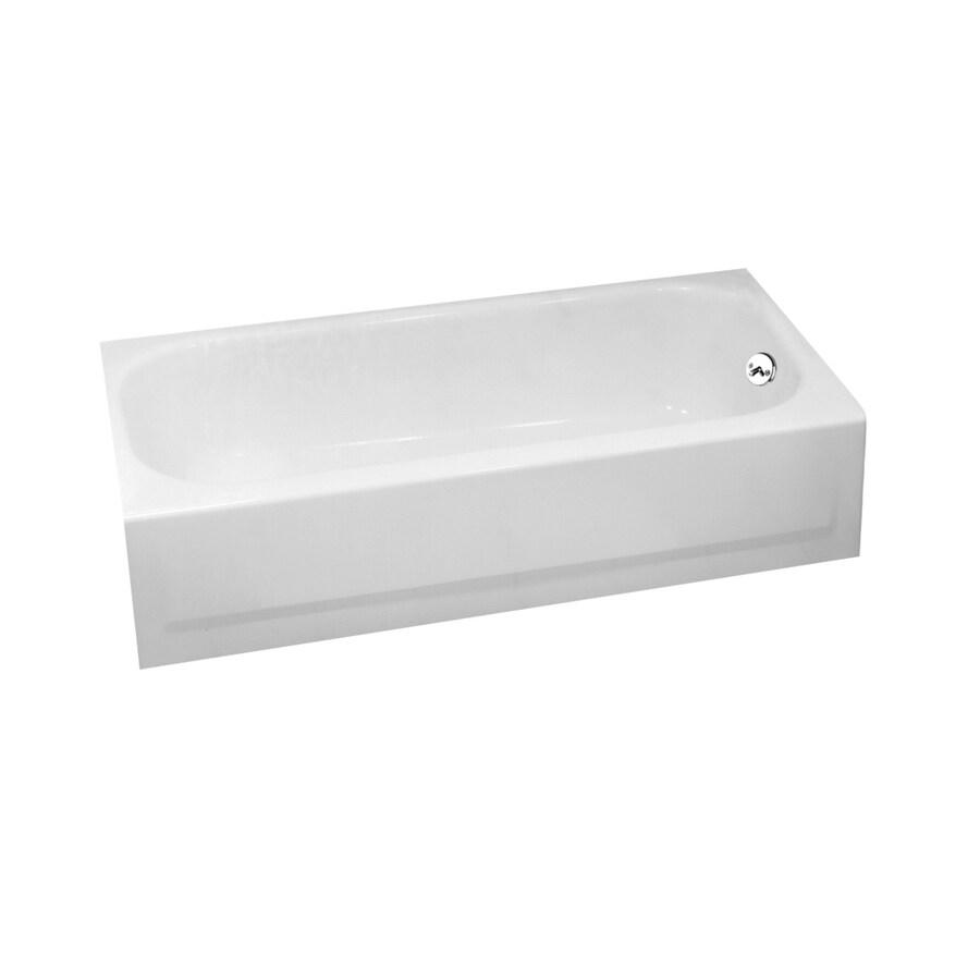 Shop Briggs Pendant 60 In White Porcelain Enameled Steel
