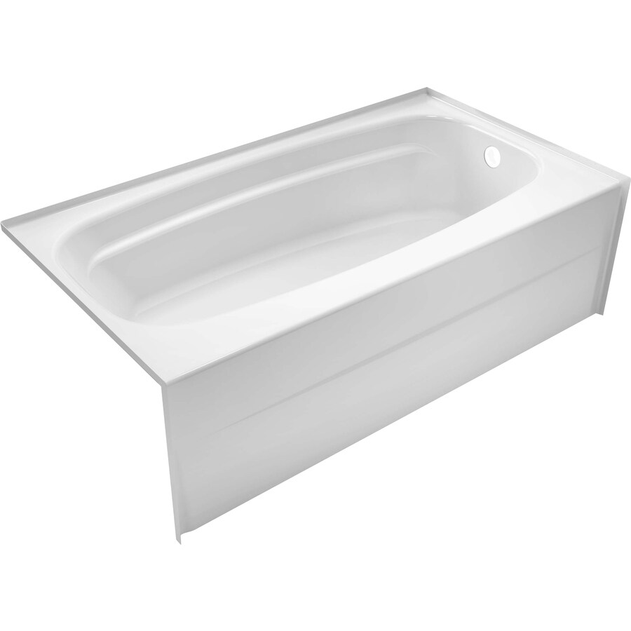 DELTA Styla 53875 In White Acrylic Rectangular Right Hand