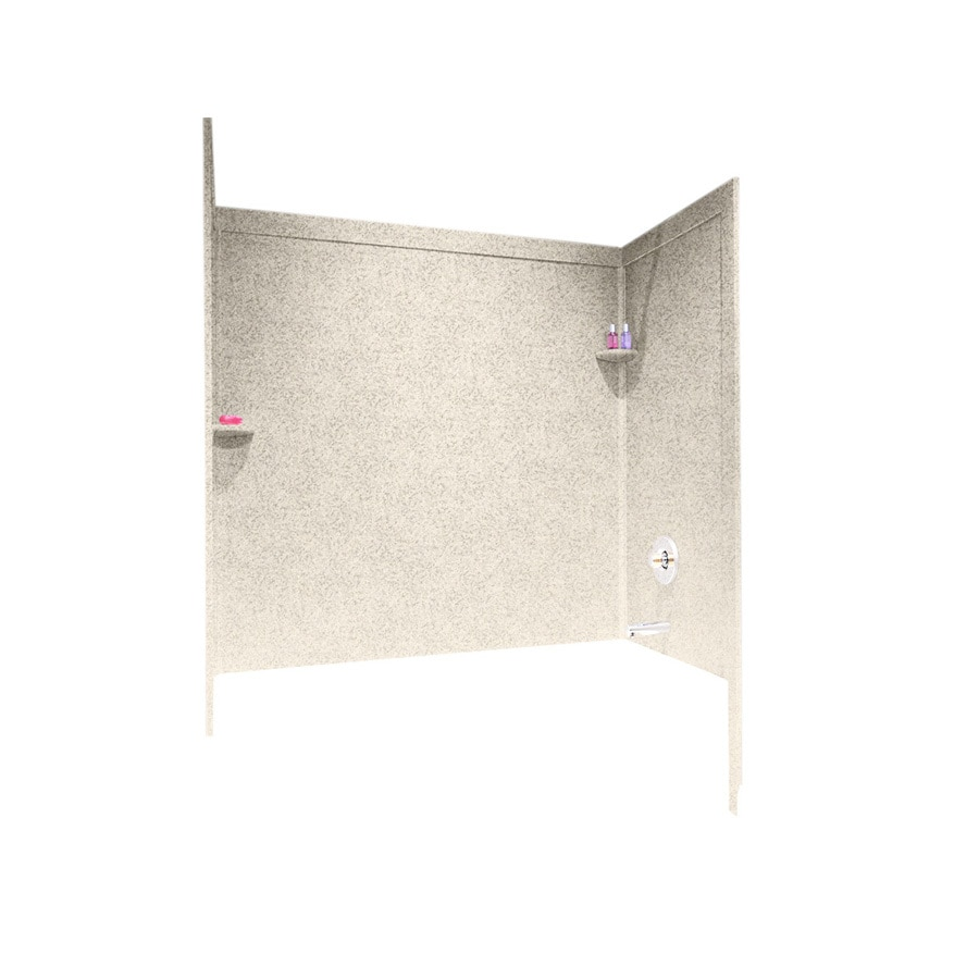 Shop Swanstone Solid Surface Bathtub Wall Surround Common