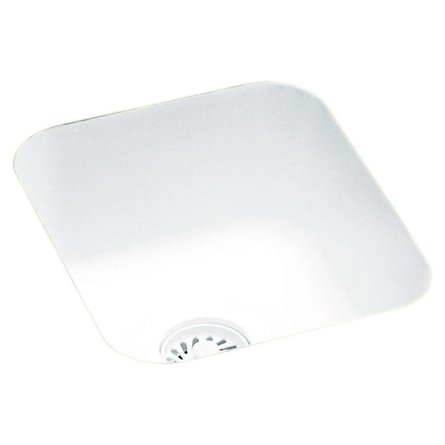 swan 15 375 in l x 13 375 in w white composite undermount residential bar sink