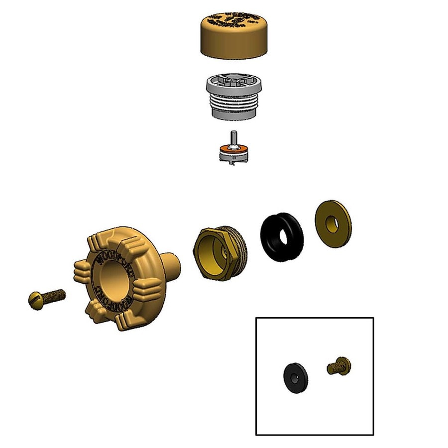 woodford gold sillcock valve replacement part