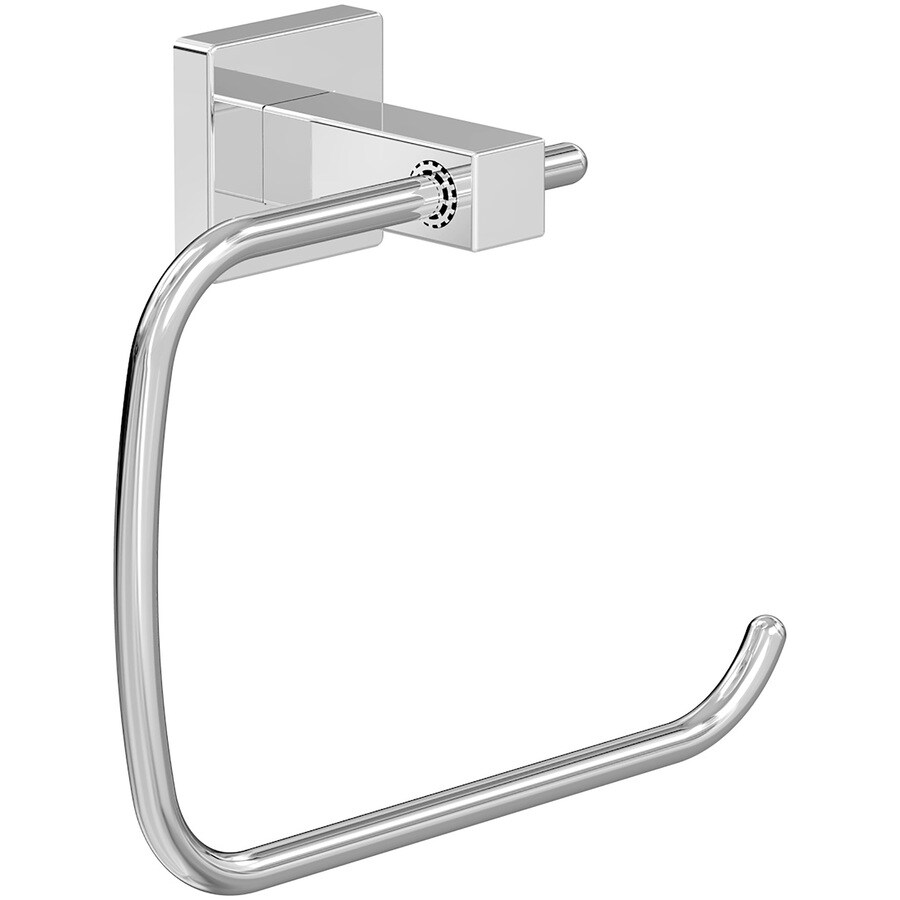 ٩(^‿^)۶ Symmons Duro Chrome Wall-Mount Towel Ring - a690
