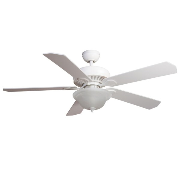 Shop Harbor Breeze Crosswinds 52 in White Indoor Ceiling Fan with     Harbor Breeze Crosswinds 52 in White Indoor Ceiling Fan with Light Kit and  Remote