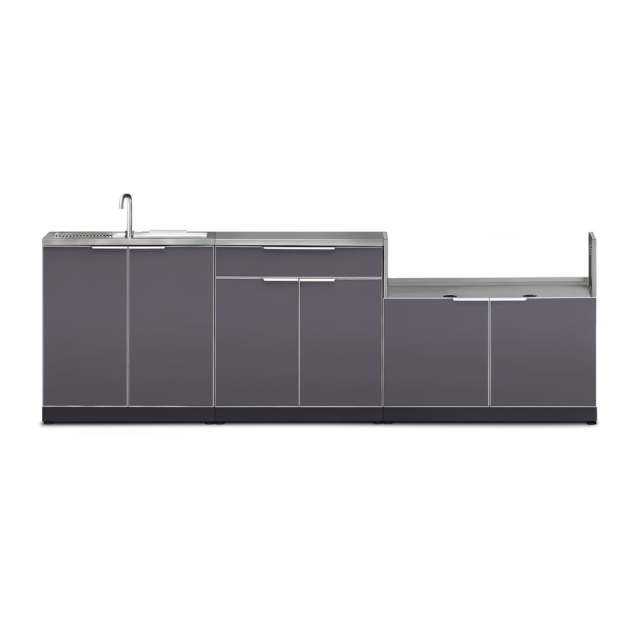 newage products modular outdoor kitchen prep station at lowes