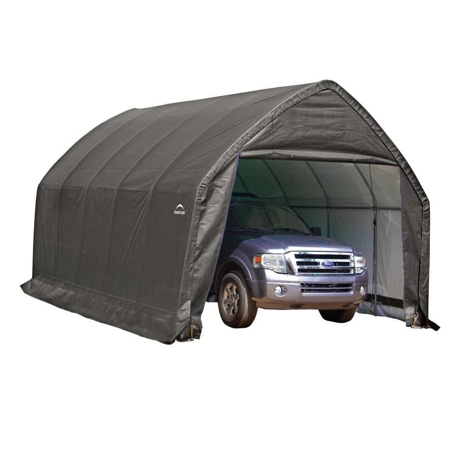 ShelterLogic 13 Ft X 20 Ft Polyethylene Canopy Storage
