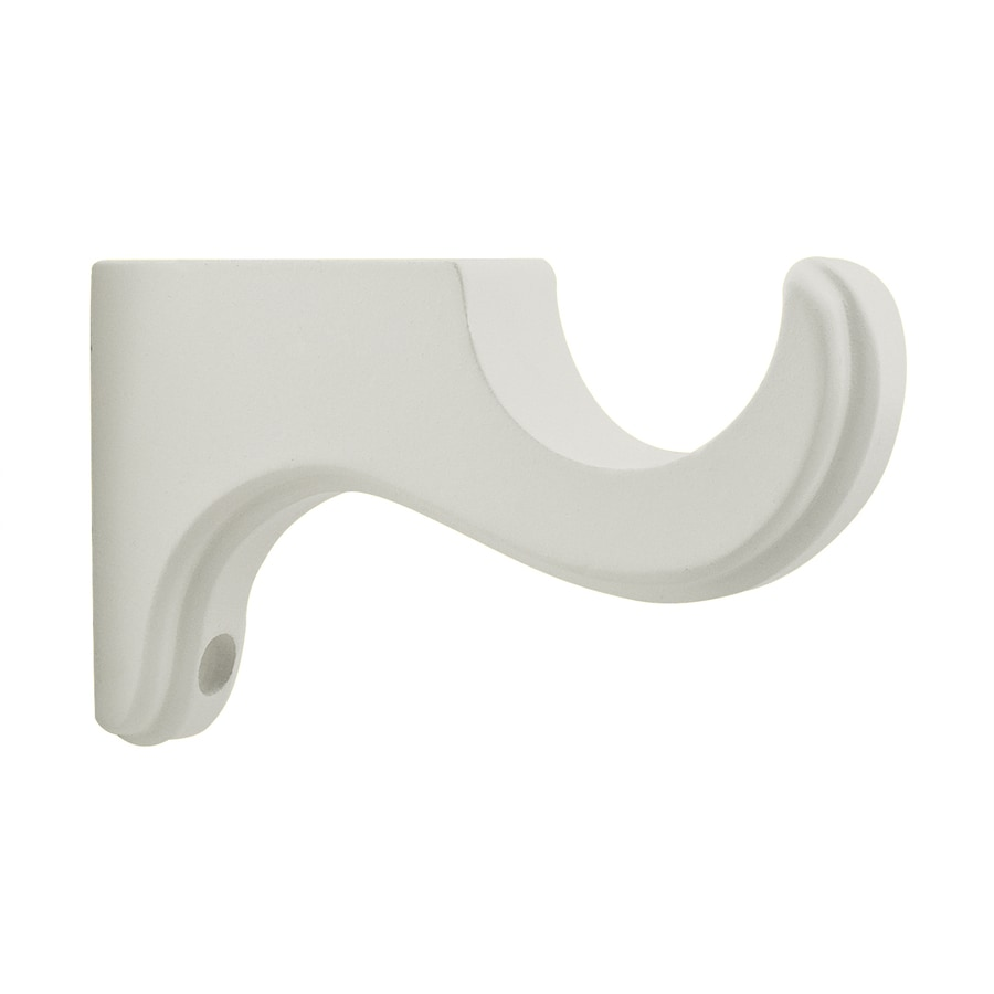 allen roth 2 pack white wood single